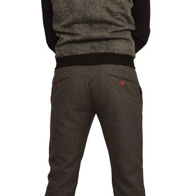 ΑΝΔΡΙΚΟ ΚΑΡΟ ΤΣΙΝΟΣ ΠΑΝΤΕΛΟΝΙ Gio.S 6604-15black/Grey